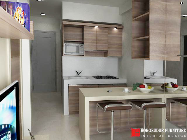 Jual Kitchen Set Minimalis Mini Bar